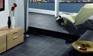 de l 39 ardoise au sol pour un int rieur naturel et branch r novation femiweb. Black Bedroom Furniture Sets. Home Design Ideas